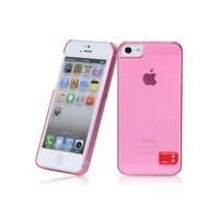 Пластиковый чехол HOCO Colorful Protective Case Pink для Apple iPhone 5/5S/5SE