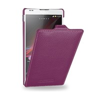 Кожаный чехол Melkco Leather Case Purple LC для Sony Xperia SP M35i