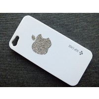 Пластиковый чехол SGP Case White Grystal для Apple iPhone 5/5S/5SE