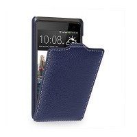 Кожаный чехол Melkco Leather Case Dark Blue LC для HTC Desire 600 Dual