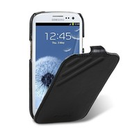 Кожаный чехол Melkco Prime Dotta Black Wax Leather для Samsung i9300 Galaxy S3