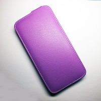 Кожаный чехол Armor Case Purple для Lenovo IdeaPhone A850