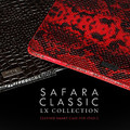 Кожаный чехол More Safara Classic Lx (Python / Red) для Apple iPad 4/3/2(#4)