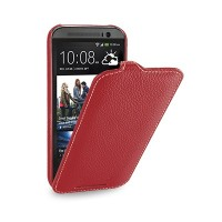 Кожаный чехол Melkco Leather Case Red LC для HTC One M8