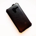 Кожаный чехол Armor Case Black для Alcatel OneTouch Pop D3 4035X(#3)