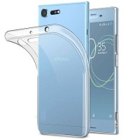 Силиконовый бампер Becolor TPU Case 0.6mm Transparent для Sony Xperia XZ Premium