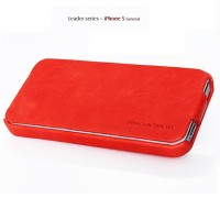 Кожаный чехол Borofone General Series Red для Apple iPhone 5/5S/5SE
