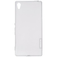 Силиконовый чехол Nillkin Nature TPU Case Grey для Sony Xperia Z4