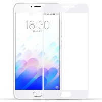 Защитное стекло Aiwo Full Screen Cover 0.33 mm White для Meizu M3 Mini\ M3s
