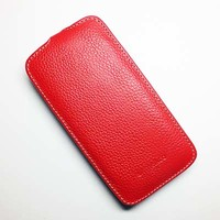 Кожаный чехол Melkco Leather Case Red LC для HTC Desire 500 Dual