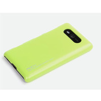 Пластиковый чехол Rock New Naked Shell Series Yellow для Nokia Lumia 820