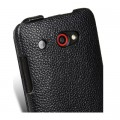 Кожаный чехол Melkco Leather Case Black LC для HTC J/Butterfly(#4)