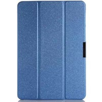 Полиуретановый чехол Book Cover Case Blue для Asus Transformer Pad TF103CG