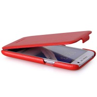 Кожаный чехол HOCO Duke Case Red для Samsung N7100 Galaxy Note 2