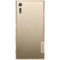 Силиконовый чехол Nillkin Nature TPU Case Brown для Sony Xperia XZ