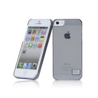 Пластиковый чехол HOCO Colorful Protective Case Grey для Apple iPhone 5/5S/5SE