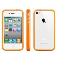 Бампер Original Bumper Orange для Apple iPhone 4/4S