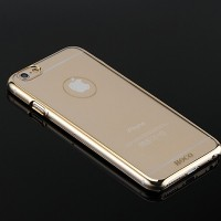 Пластиковый чехол HOCO Defender Series Gold для Apple iPhone 6/6S