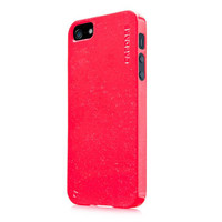 Силиконовый чехол Capdase Soft Jacket Sparko Red для Apple iPhone 5/5S/5SE