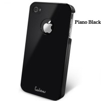 Пластиковый чехол Dreamplus High Glossy Series Black для Apple iPhone 4/4S