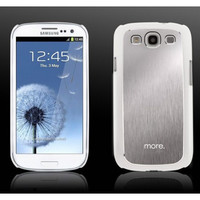 Пластиковый чехол More Blaze Collection White/Silver для Samsung i9300 Galaxy S3