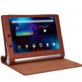 Кожаный чехол TTX Case Brown для Lenovo Yoga Tablet 2 1050f(#2)
