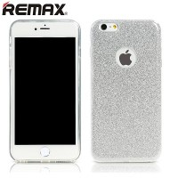 Силиконовый чехол Remax Glitter Series Silver для Apple iPhone 6 Plus/6s Plus
