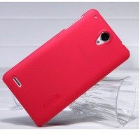 Пластиковый чехол Nillkin Super Frosted Shield Red для Lenovo IdeaPhone S890