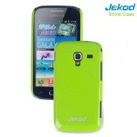 Пластиковый чехол Jekod Shine Case Green для Samsung i8160 Galaxy Ace 2