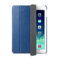 Кожаный чехол Melkco Slimme Cover Type Blue LC для Apple iPad Air