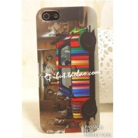 Пластиковый чехол Hardshell Case Paul Smith Brown для Apple iPhone 5/5S/5SE