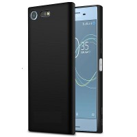 Силиконовый бампер Becolor TPU Case 1mm Black Mate для Sony Xperia XZ Premium