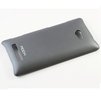 Пластиковый чехол ROCK NakedShell Series Dark Grey для HTC Windows Phone 8X