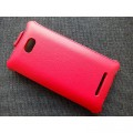Кожаный чехол Armor Case Red для HTC Windows Phone 8X(#2)