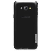 Силиконовый чехол Nillkin Nature TPU Case Grey для Samsung Galaxy A8