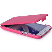 Кожаный чехол HOCO Duke Case Pink для Samsung N7100 Galaxy Note 2