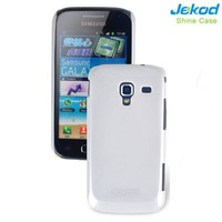 Пластиковый чехол Jekod Shine Case White для Samsung i8160 Galaxy Ace 2