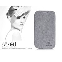 Кожаный чехол Nillkin Fashion Series Grey для Samsung i9082 Galaxy Grand Duos