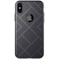 Пластиковая накладка Nillkin Air Case Black для Apple iPhone X/ iPhone XS
