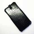 Кожаный чехол Abilita Leather Case Black Crocodile для HTC Desire 610(#3)