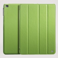 Кожаный чехол HOCO leather case Green для Apple iPad Air