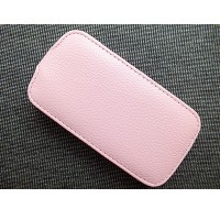 Кожаный чехол Up Case Pink для Samsung i8190 Galaxy S3 mini