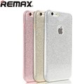 Силиконовый чехол Remax Glitter Series Pink для Apple iPhone 6/6S(#2)