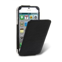 Кожаный чехол книга Melkco Leather Case Diary Flip Type Black LC для Apple iPhone 5/5S/5SE