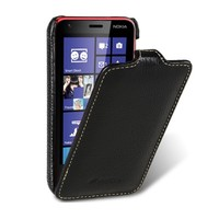 Кожаный чехол Melkco Leather Case Black LC для Nokia Lumia 620