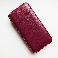 Кожаный чехол Melkco Leather Case Purple LC для Samsung G800F Galaxy S5 mini