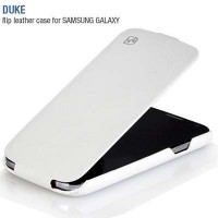 Кожаный чехол HOCO Duke Leather Case White для Samsung i9190 Galaxy S4 mini