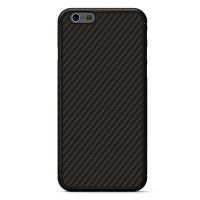 Пластиковый чехол Nillkin Synthetic Fiber Черный (Black) для Apple iPhone 6 Plus/6s Plus