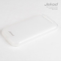 Силиконовый чехол Jekod TPU Case White для Alcatel One Touch Idol Ultra 6033X