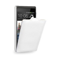 Кожаный чехол Melkco Leather Case White LC для HTC Desire 600 Dual